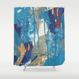 Flowers 01 Shower Curtain