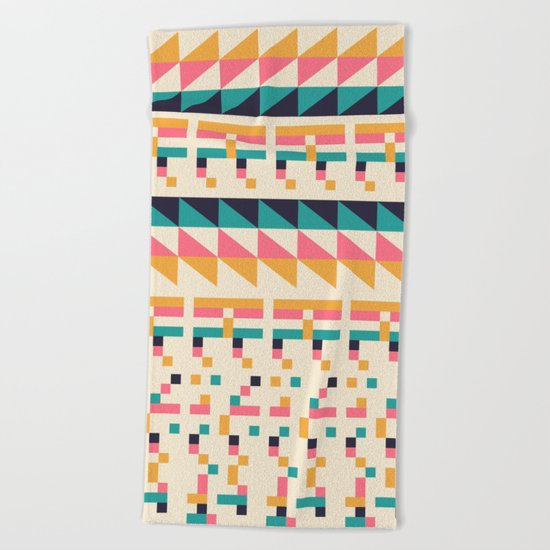 Pattern # 1 Beach Towel