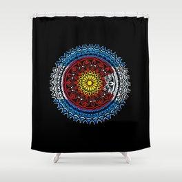 Colorado Mandala Shower Curtain