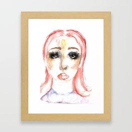 CLOWNISH. Framed Art Print