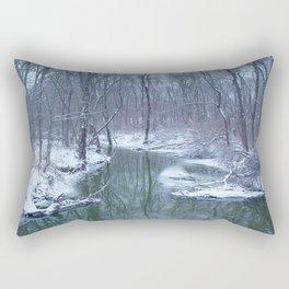 After the Blizzard Rectangular Pillow