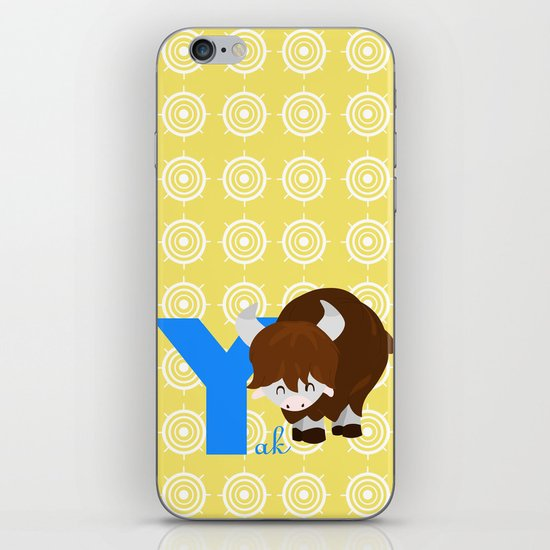 y for yak iPhone & iPod Skin