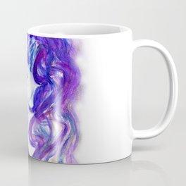 Fantasy unicorn portrait Coffee Mug