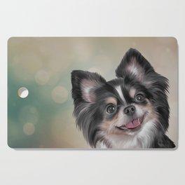 Drawing dog Chihuahua Cutting Board