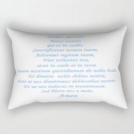 Pater noster Rectangular Pillow