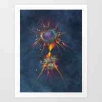 dreamcatcher Art Prints featuring Dreamcatcher by jbjart