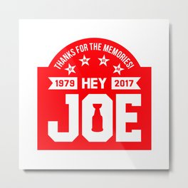 Hey Joe Metal Print