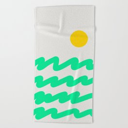 Abstract Landscape 07 Beach Towel