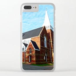 St. Paul's Church Sturgeon PEI Clear iPhone Case
