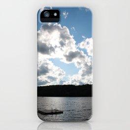 Harp Lake iPhone Case