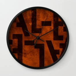 Ale Beer Typography Wall Clock