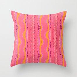 Eleuthera Waves Throw Pillow