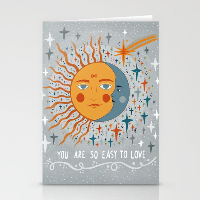 You are so easy to love Stationery Cards