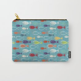 Fish poissons 100 Carry-All Pouch