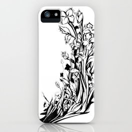 She's Blooming iPhone Case