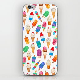 Summer Pops and Ice Cream Dreams iPhone Skin