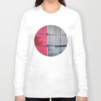 memphis Long Sleeve T-shirts featuring Memphis Window by wendygray