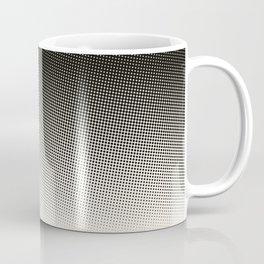 Black & White Halftone Coffee Mug