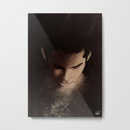 Ashes I Have Become: Stiles Stilinski  Metal Print