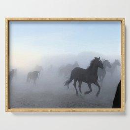 Morning Mist Serving Tray
