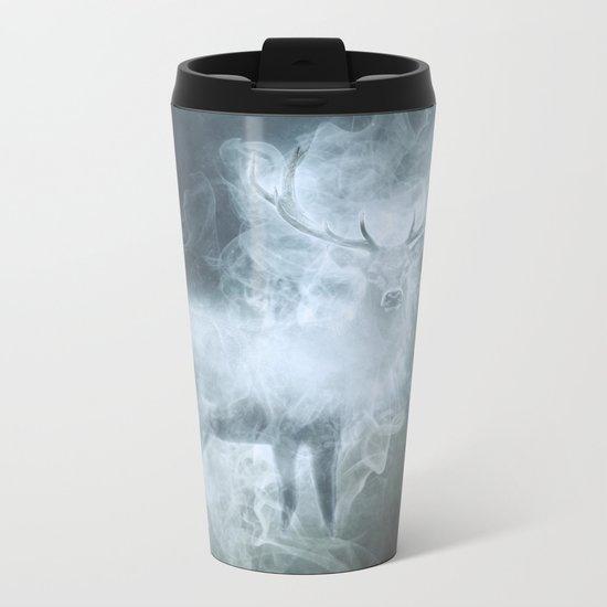 Stag Patronus Metal Travel Mug