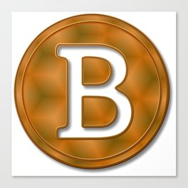 Bitcoin 15 Canvas Print