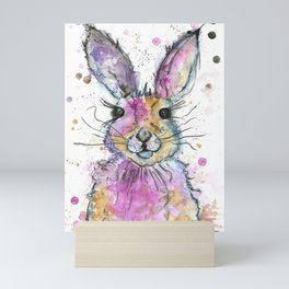 {Henry} the Bunny Portrait Mini Art Print