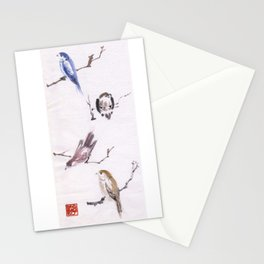 Sumi Bird Study Stationery Cards