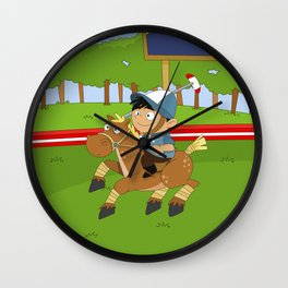 Non Olympic Sports: Polo Wall Clock