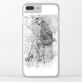 Mystery. Clear iPhone Case