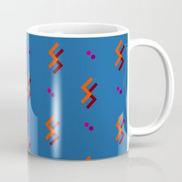 Orange Little Lightnings Coffee Mug