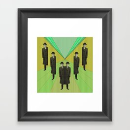 spies are everywhere Framed Art Print