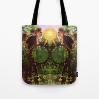 prism Tote Bags featuring prism  by BOBBY WILKINS