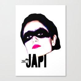 TOILET CLUB #japi Canvas Print