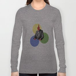 Abstract Collage Long Sleeve T-shirt