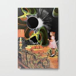 Inter-Dimensional Phone Line Metal Print