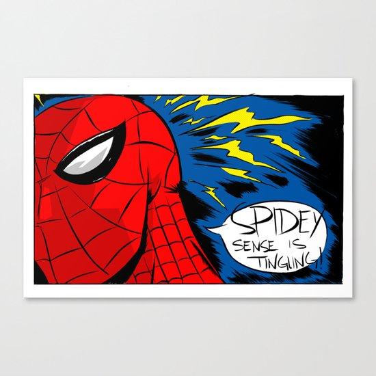 The Spidey Sense Canvas Print