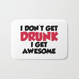 Get Awesome Funny Quote Bath Mat