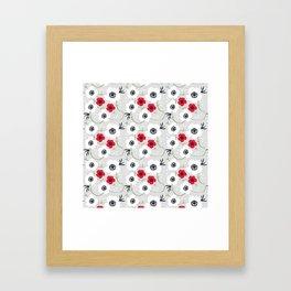 Anemone Print Framed Art Print