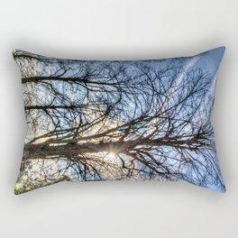 Churchyard Tree  Rectangular Pillow
