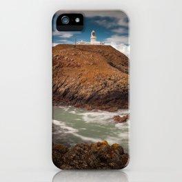 Strumble Head Lighthouse iPhone Case