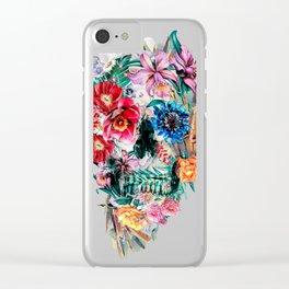Momento Mori VI Clear iPhone Case