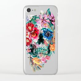 Momento Mori VI Clear iPhone Case