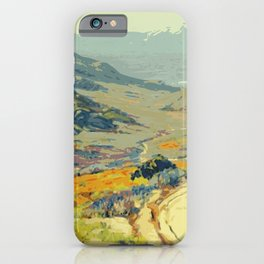 Warm breeze landscape iPhone Case