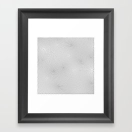 Triangles, Seed 37 Framed Art Print