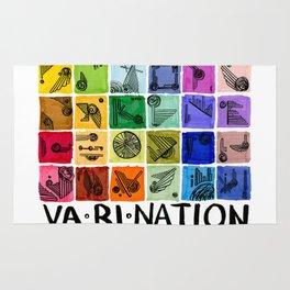 VA-RI-NATION Rug