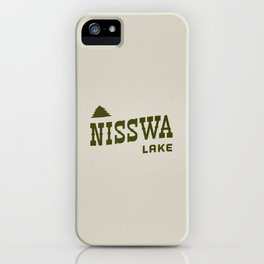 Nisswa Lake iPhone Case