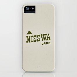 Nisswa Lake iPhone Case