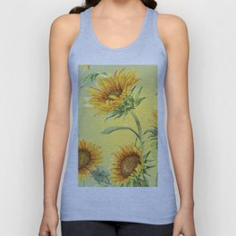 Sunflowers 2 Unisex Tank Top