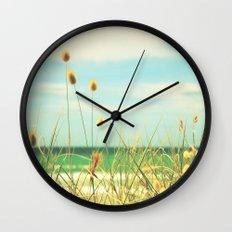 Somewhere Seaside Wall Clock